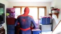 Y regreso a casa vida prototipo Informe hombre araña traje Unboxing real