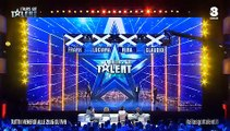 I Trejolie cantano Laura Pausini Italias got talent 2017 Audizioni
