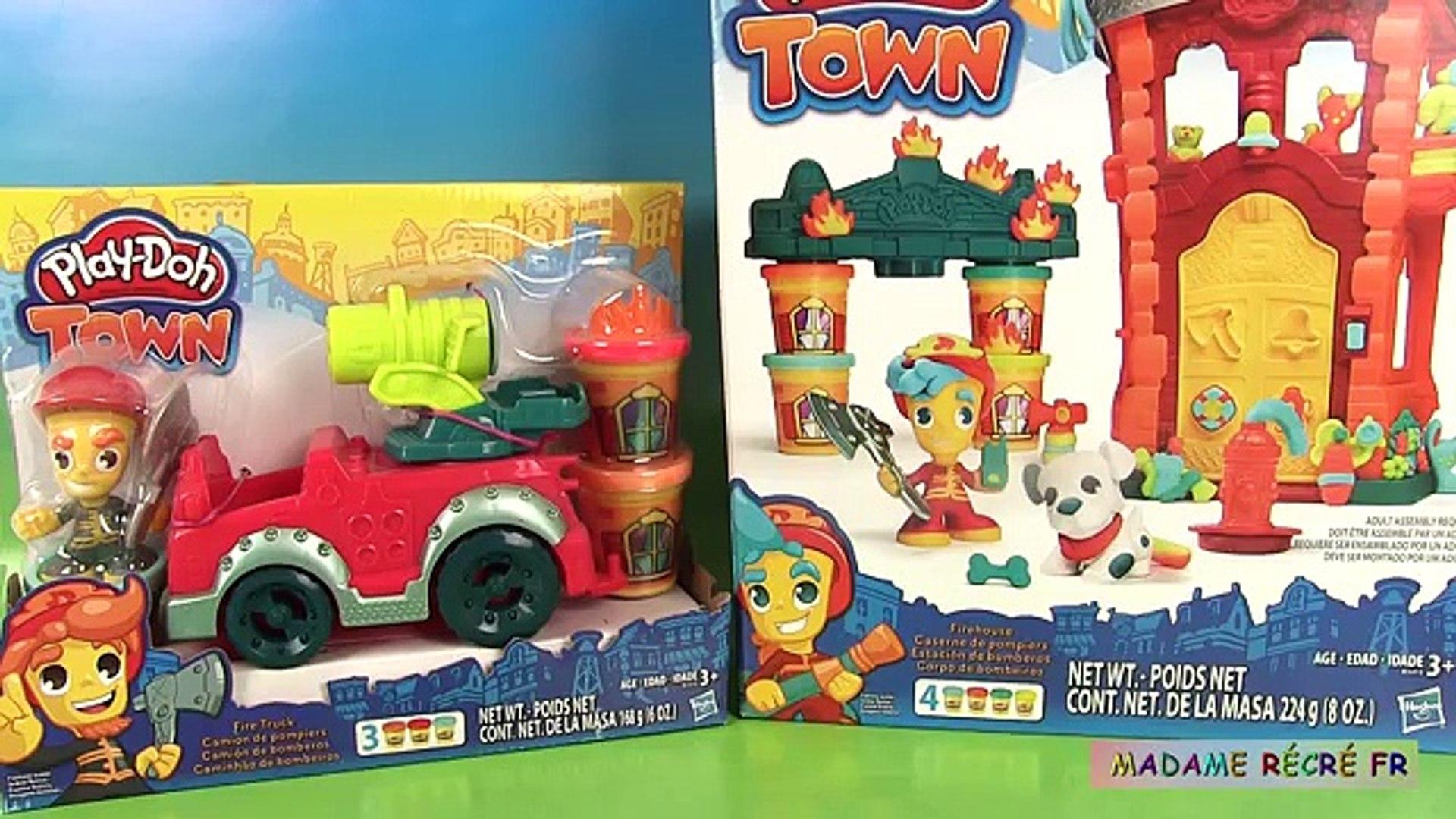 Де де по из также доч Пожар Ла Ля в в тесто играть город грузовая машина Воейтерия автомобиль Глина City Пожарники