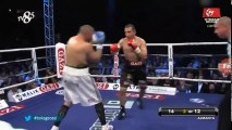 Fırat Arslan vs Goran Delic Full fight 2017-07-15 vacant WBO European cruiserweight title
