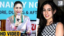 Kareena Kapoors ACTING TIPS To Sara Ali Khan