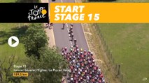 Départ / Start - Étape 15 / Stage 15 - Tour de France 2017