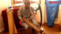 Dinan. Harpe celtique : Rajery en concert