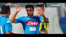 But de Adam Ounas Società Sportiva Calcio Naples