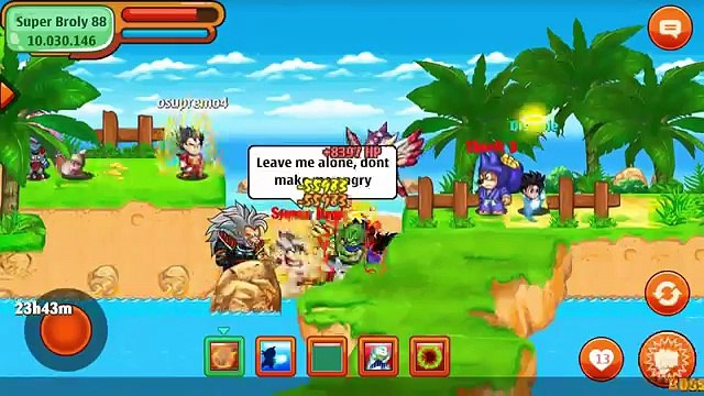 Hunting Boss Super Broly For Fun - Ngoc Rong Online