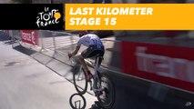 Flamme rouge - Étape 15 / Stage 15 - Tour de France 2017