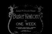 Uma Semana (One Week - 1920), com Buster Keaton, legendado em português