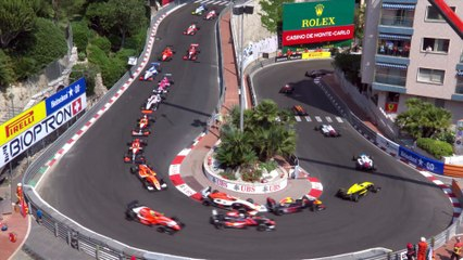 Formula Renault Eurocup : Highlights Course 2 - Monaco (2017)