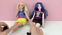 Barbie VERGLEICH _ Zwei Fashionista Barbies mit Kurven vs. normale Barbie _ Spiel mit