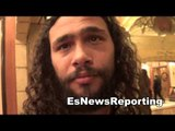 Keith Thurman in Vegas for mayweather vs pacquiao - esnews boxing