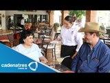 Carmen Salinas visita el rancho de Vicente Fox   Carmen Salinas visits the ranch Vicente Fox