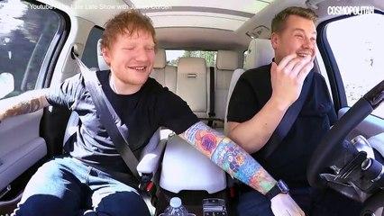 Ed Sheeran se lâche dans le Carpool Karaoke de James Corden