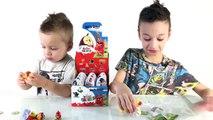 Défi des œufs ★ Défi 50 œufs Kinder le plus rassemblent des jouets de collection kinder wi