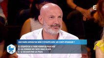 """Michel Cymes recadre Franck Leboeuf hier soir dans """"Le test qui sauve"""" sur France 2"""