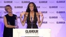 Glamour Awards 2017: Winnie Harlow gives emotional speech