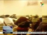 Colombia: maestros toman iglesia de San Francisco en Bogotá