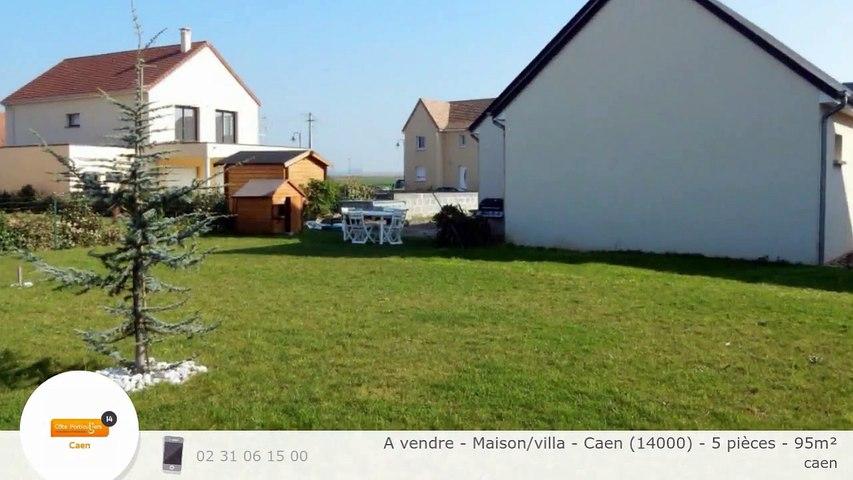 A vendre - Maison/villa - Caen (14000) - 5 pièces - 95m²