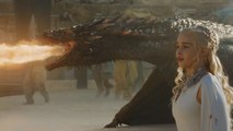 Game of Thrones - Drogon rescues Daenerys