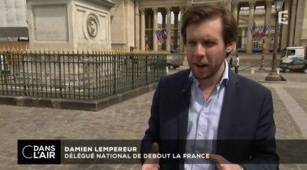 C dans l'air - Interview de Damien Lempereur