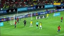 أهداف مباراة .. اسبانيا 2 - 2 كولومبيا.. مباراة ودية