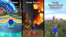 Gameplay Comparison_ Sonic Forces vs. Sonic Generations vs. Sonic Colors[Alta qualidade