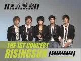 TVXQ publicize their 1stconcert in Korea