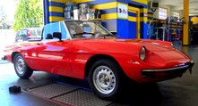 ALFA ROMEO 1300 DUETTO CODA TRONCA  YEAR 1972 FULL RESTORATION