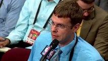 【NBA】Steve Kerr Postgame Interview  Warriors vs Cavs Game 3  June 7 , 2017