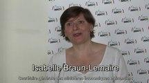 Isabelle Braun-Lemaire, Secrétaire générale des Ministères Economiques et Financiers présente Bercy INNOV