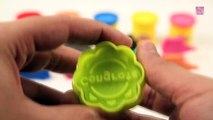 Learn Colors with Play Doh Moulds _ Kwerwerids Learning Videos _ Learn Colours with Vehicles Toys _ Toys