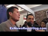 julio cesar chavez sr on his son julio chavez jr - EsNews
