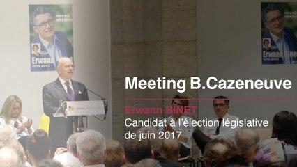 Retour sur le meeting de Bernard Cazeneuve à Vienne
