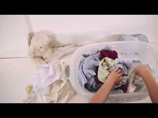 Tutorial para lavagem da roupa do bebê