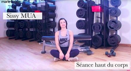 Découvrez la séance spéciale haut du corps de Sissy Mua pour vous muscler à la maison !