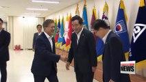 South Korean president seeks creative ways to solve North Korean problem