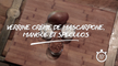 Verrine crème de mascarpone, mangue et speculos - Recette n°2 - Olivier Chaput