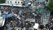 Hamaslı Lider İbrahim Ebu Neca Ebediyete Uğurlandı