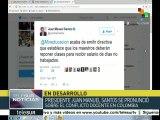 teleSUR noticias: Maestros colombianos exigen mejor salario