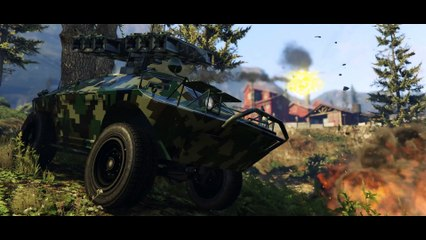 GTA Online  Gunrunning Trailer de Grand Theft Auto V