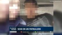 Deux policiers argentins dans la tourmente pour avoir été filmés en plein ébats dans leur voiture de patrouille