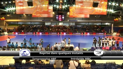 Finale féminine des championnats de France ULTRAMARIN mi-tps 2