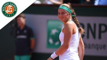 Roland-Garros 2017 : Le dernier jeu de Jelena Ostapenko