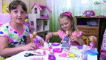 Bad Baby - How to Cut Barbie Doll Hair – Barbie Hair Cut | Плохая девочка постригла Куклу Барби