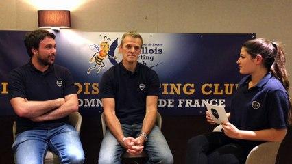 L'Interview Handball du Levallois Sporting Club !