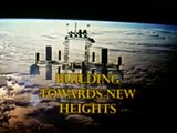 Working in Space   Building Toward New Heights  1987 NASA Johnson Space Center