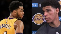 Lonzo Ball SNEAK DISSES D'Angelo Russell