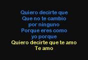 Laura Pausini - Quiero Decirte Que Te Amo (Karaoke)