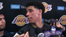 【NBA】Lonzo Ball Post Workout Interview With Los Angeles Lakers  2017 NBA Draft Workout  June 7,2017