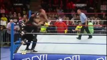 Roman Reigns spears CM Punk at Old School Raw