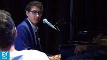 """[live] Vincent Vinel (The Voice saison 6) chante """"Diego libre dans sa tête"""" de Michel Berger en direct sur Europe 1"""